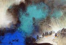 Хочу нарисовать пейзаж / Старинные и современные китайские пейзажи / by Ольга Комарова