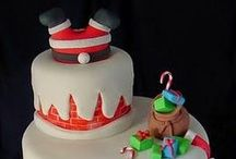 xmas cakes decorating ideas
