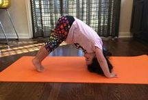 Kids' Yoga Asanas (Poses) / Yoga poses and games for you and your yoginis.
