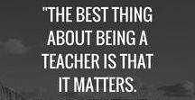 Teacher to be