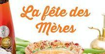 Fêtes des mères / Pour célébrer la fête des Mères, cette année on oublie un peu le resto... et on cuisine! Élaborer un menu brunch ou un souper élégant avec nos suggestions de recettes, comprenant également des idées d'entrées et de cocktails.
