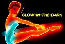Glow-in-the-Dark / Introducing a line of neon and UV reactant shoes from Pleaser USA. After the lights go out, these styles will highlight your dance moves.