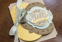 Stampin' Up! Cards / Amazing cards and tags created with Stampin' Up! products / by Rustic Luxe