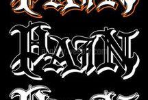 Typography Gothic