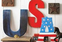 4th of July party ideas / Recipes, drinks and decoration.