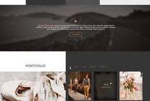 website interface
