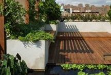 Making a rooftop garden / Inspo for how to create a garden in the sky!