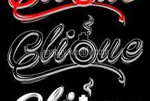 Typography Groovy