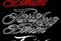 Typography Chicano