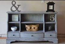 Furniture Finds / DIY furniture restoration and home decore / by Stampin' Essentials