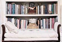 Home Library Ideas - Bookshelves