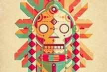 Illustrations - Tribal Patterns