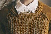Knitwear for winter