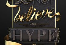 amazing typography / clever and beautyfully crafted typograhic visuals