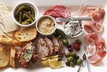g a t h e r / Selection of appetizers, tapas and share platter recipes - perfect for entertaining & delighting guests! ♥