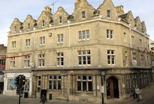 """Red Lion Mansions / The Red Lion Mansion is a wonderful Clipsham Limestone building sat in Red Lion Square, Stamford. Stamford, """"The town built of stone"""", has many such great structures and this is one of which Stone Edge's stonemasons were lucky enough to work on. The building had suffered impact damage to first floor cornice sections from high-sided vehicles manoeuvering down the very narrow street and was in need of restoration. All damaged Clipsham cornices were detailed and replaced."""