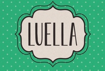 Luella Font / Luella is an elegant, hand drawn vintage inspired font by Cultivated Mind. Luella has been carefully crafted and comes in three weights (Regular/Bold/Black). This font works perfectly with the Luella frames and ornaments sets.