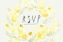 Wedding Stationery / Bespoke wedding designs; invitations, save the dates, thank you cards, programs etc.  http://www.whatktdoes.com/bespokestationery/