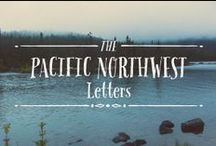 Pacific Northwest Font / Pacific Northwest is a fun, handwritten font by Cultivated Mind. Pacific Northwest has been carefully hand painted and comes in two styles (Regular/Rough). This font works perfectly with the Pacific Northwest hand painted labels.  #Fonts #PacificNorthwest  #Myfonts  #Typography