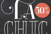 La Chic Font / The La Chic Font family comes loaded with an extended character set of 575 glyphs covering a range of languages and alternate versions of letterforms for display use.