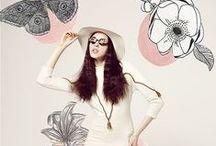 Fashion // My Editorial Work / My illustrated fashion editorials