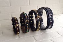 Leather Dog Collars / Our classic leather dog collar designs