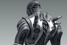 Robot Character Designs