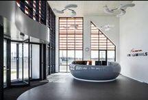 Office APM Terminals Maasvlakte 2 Rotterdam The Netherlands / Interior design