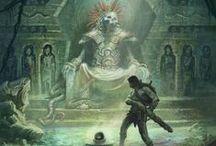 Fantasy Art Inspiration / Fantasy inspired art for art fantasy inspiration. / by David Brindisi