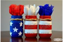 Fourth of July - Inspiration / Patriotic Flag fabrics and designs