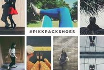 WEARING PIKKPACK / by Pikkpack - Shoes by YOU