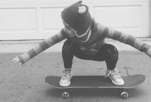 Skateboard Kids / Adorable kids and their boards! Your kids can learn to skate too! Follow our board and follow us on Instagram and Fb. #skatertrainer #skaterkids #learntoskate #skateboard