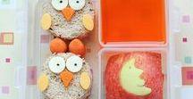 Uilen lunch / Een uil in de lunchbox! Uilen zijn leuk en makkelijk te maken. Bijvoorbeeld van brood, fruit of kaas. Inspiratie, tips, recepten en ideëen om uilen mee te geven in de broodtrommel, lunchtrommel, lunchbox, bento box als school lunch. Zeker weten dat de kinderen het heerlijk en leuk vinden. Gevarieerde en gezonde lunch. Ook leuk voor moeilijke eters