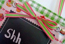 Chalk Cloth DIY and Ideas
