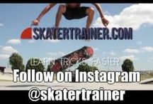 Skateboarding Fun and Safety / This board is for parents and kids to see equipment and ways to learn to skateboard safely and have fun! The whole family can learn to skateboard together! #skatertrainer #learntoskate #skateboard #skatelife