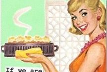 Fifties Housewives / Moodboard Fifties Housewives