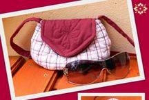 Eniko's Patchwork bags / Creative bags with patchwork technique ---- Kreatív táskák patchwork (foltvarrós) technikával