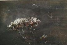 Mes propres peintures / Peintures à l'huile par Sabine Harmand.