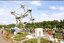 Atomium - What to do around [Mini-Europe • Oceade • Planetarium] / Have a great time with our neighbors : Mini-Europe • Oceade • Planetarium.