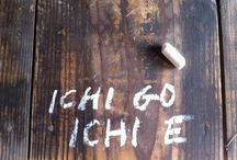 "ICHI-GO ICHI-E / We often translate this phrase as ""one lifetime, one meeting."" But I like the translation, unprecedented, unrepeatable as a more clear translation of the meaning. Ichi-go Ichi-e calls upon us to pay attention to right now before the moment has passed."