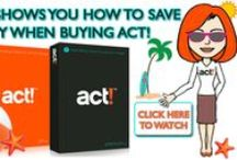 Page Swift - ACT CRM Sales / Page Swift shows you how to save money when buying ACT CRM Software with monthly sales, promotions and coupons! / by ACTPLATINUM.COM