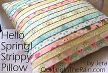 Pillows - Sewing Tutorials and Ideas.