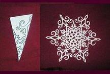 5 SnowFlakes Paper