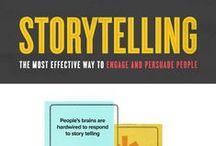 Storytelling / Storytelling strategies, the science behind storytelling and storytelling for marketing purposes.