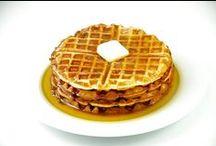 Recetas de Desayuno / Deliciosos desayunos especiales como tortitas americanas y gofres!