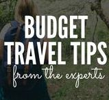 Budget Travel Tips From The Experts / How to travel cheaper, faster, safer, longer, smarter. The best tips from the world's travel experts.  Rules: 2 pins per day. Budget travel related only please! PM for invitation.