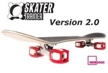 Skatertrainer 2.0 / The new skatertrainers are great for learning new tricks fast! They are so easy to install and are light weight and durable! You can learn to #ollie, #kickflip, and more. You gain confidence and skill fast! You can learn to skate!