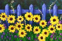 3 Flower Art