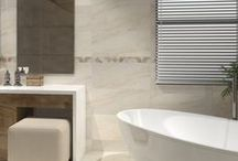 Bathroom Wall Tile Designs / A range of beautiful wall tiles including many with matching floor tiles.