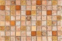 Orange Tiles / Various shades of orange tiles from classic pattern tiles to bright orange metro tiles perfect for orange kitchen tiles.